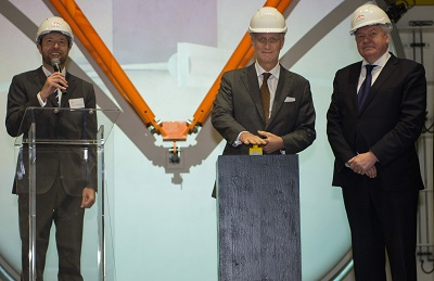 ArcelorMittal, the Walloon government and Sogepa celebrate world-first for steel industry